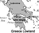 Image showing the island of Crete which was the centre for the expansion of the bronze trade