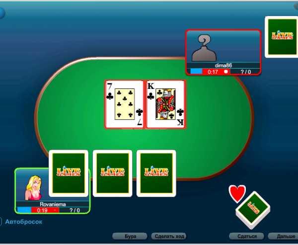 Карточные игры на раздевание онлайн