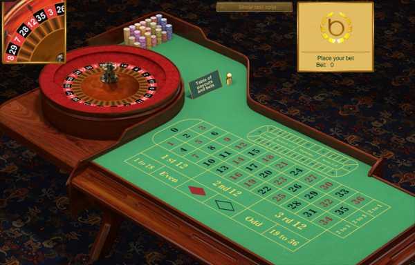 Стратегия игры в рулетку «красное черное»